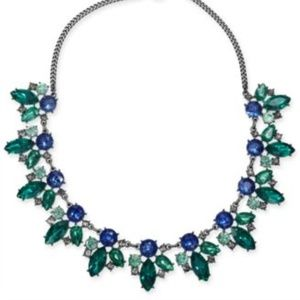 INC crystal statement necklace
